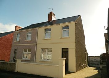 Thumbnail 3 bed semi-detached house for sale in Eastleigh Drive, Milford Haven, Pembrokeshire.