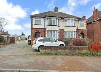 Thumbnail 3 bed semi-detached house for sale in Compton Avenue, Leagrave, Luton