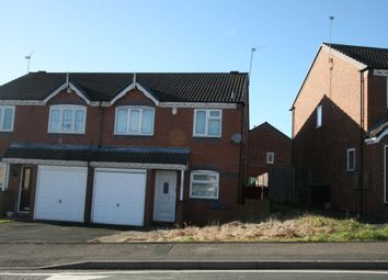 Thumbnail 3 bed semi-detached house for sale in Woodruff Way, Walsall