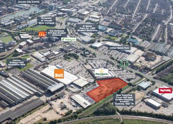 Thumbnail Land for sale in Development Site, Tritton Road, Lincoln