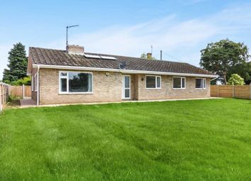 Thumbnail 3 bed detached bungalow for sale in Castle Road, Wormegay, King's Lynn