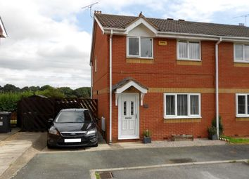 Thumbnail 3 bed semi-detached house for sale in Bernfels Court, Ponciau, Wrexham