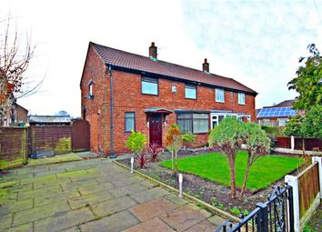 Thumbnail 2 bed semi-detached house for sale in Cherry Tree Road, Lowton, Lancashire