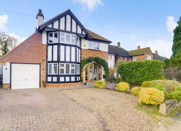 Thumbnail 4 bed detached house for sale in Tattenham Crescent, Epsom