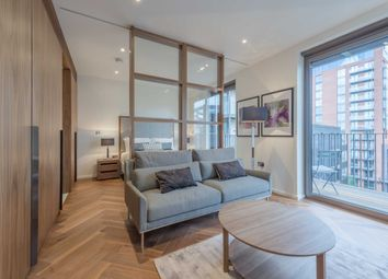Thumbnail 1 bed flat to rent in Ambassador Building, Embassy Gardens, Vauxhall, London