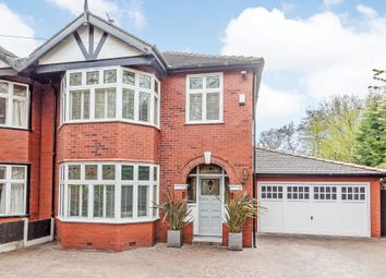 Thumbnail 3 bed semi-detached house for sale in Kempnough Hall Road, Manchester