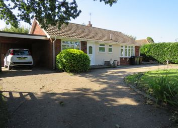 Thumbnail 2 bed detached bungalow for sale in Common Road, Aldeby, Beccles