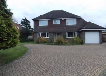 Thumbnail 4 bed detached house to rent in Norwood Lane, Meopham, Gravesend