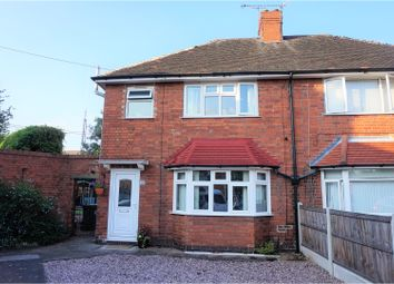 Thumbnail 3 bed semi-detached house for sale in Holly Road, Nottingham