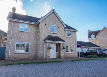 Thumbnail 5 bed detached house for sale in Ponsonby Drive, Peterborough