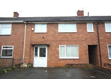 Thumbnail 3 bed town house for sale in Eddystone Road, Thurnby Lodge, Leicester
