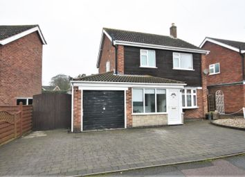 Thumbnail 3 bed detached house for sale in Jubilee Road, Newbold Verdon, Leicester