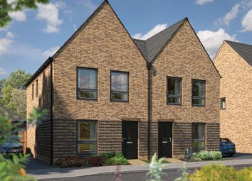 "Thumbnail 2 bedroom semi-detached house for sale in ""The Holly"" at Station Road, Longstanton, Cambridge"