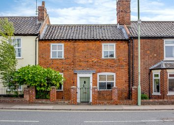 Thumbnail 2 bed terraced house for sale in St. Johns Road, Bungay
