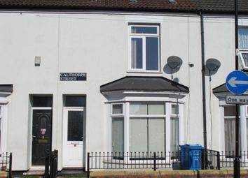 Thumbnail 3 bed terraced house to rent in Calthorpe Street, Hull