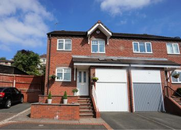 Thumbnail 3 bed semi-detached house for sale in Winscar Croft, Lower Gornal