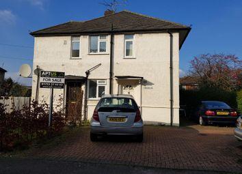 Thumbnail 2 bedroom maisonette for sale in Montrose Avenue, Slough