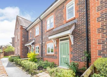 Thumbnail 3 bed terraced house for sale in Gilbert Hannam Close, Midhurst, West Sussex