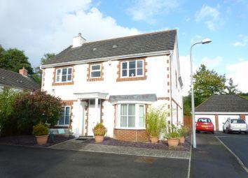 Thumbnail 4 bed detached house for sale in Erwr Brenhinoedd, Llandybie, Ammanford, Carmarthenshire.