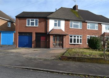 Thumbnail 5 bedroom semi-detached house for sale in Ridgeway Avenue, Styvechale, Coventry, West Midlands