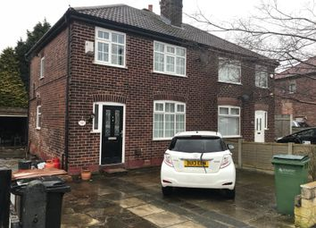 Thumbnail 3 bed semi-detached house for sale in Granville Road, Cheadle Hulme, Cheadle