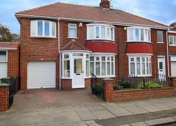 Thumbnail 4 bedroom semi-detached house for sale in Kirkstone Avenue, Sunderland