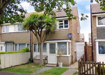Thumbnail 3 bed semi-detached house for sale in Kirdford Close, Rustington, Littlehampton