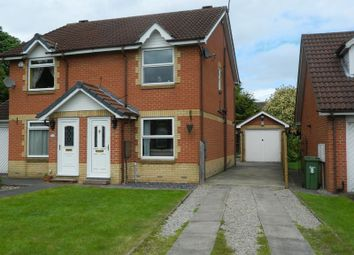 Thumbnail 2 bedroom semi-detached house to rent in Blenheim Court, Rawcliffe, York