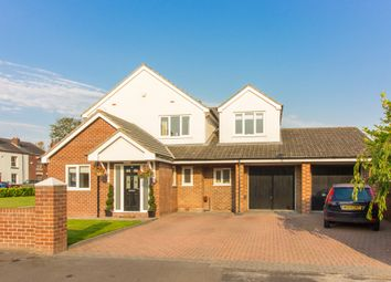 Thumbnail 4 bedroom detached house for sale in Common Lane, Culcheth