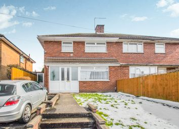 Thumbnail 3 bedroom semi-detached house for sale in Okehampton Avenue, Llanrumney, Cardiff