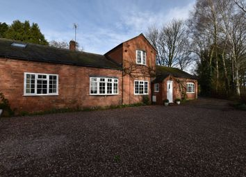Thumbnail 5 bed barn conversion for sale in Warrant Road, Stoke On Tern, Market Drayton