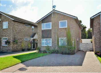 Thumbnail 4 bed detached house for sale in Barnstaple Close, Northampton