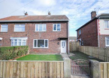 Thumbnail 3 bed semi-detached house for sale in Edinburgh Road, Jarrow