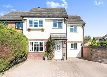 Thumbnail 4 bed semi-detached house for sale in Parmenter Drive, Great Cornard, Sudbury