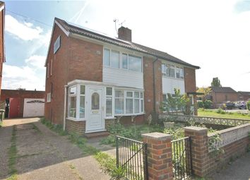 Thumbnail 3 bed semi-detached house for sale in St. Annes Avenue, Stanwell, Staines-Upon-Thames, Surrey
