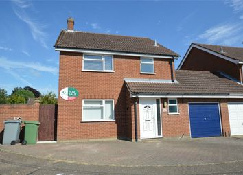 Thumbnail 3 bed detached house for sale in Ropes Walk, Blofield, Norwich, Norfolk
