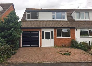 Thumbnail 3 bed semi-detached house for sale in Deanshill Close, Stafford