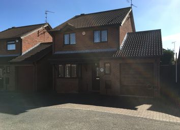 Thumbnail 4 bedroom detached house for sale in Kendal Close, Gunthorpe, Peterborough