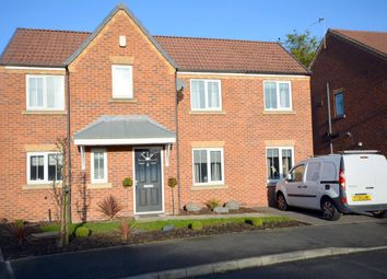 Thumbnail 4 bed detached house for sale in Stormont Grove, Inkersall, Chesterfield