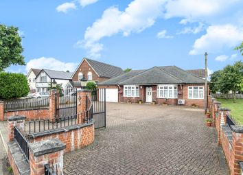 Thumbnail 4 bed detached bungalow for sale in Ruxley Lane, West Ewell, Epsom