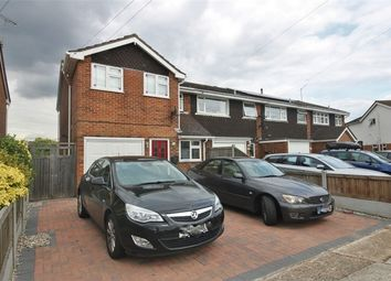Thumbnail 3 bed semi-detached house for sale in Wilmslowe, Canvey Island, Essex