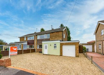 Thumbnail 3 bed semi-detached house for sale in Hawksdale Close, Grantham