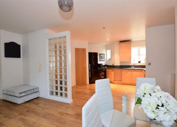 Thumbnail 2 bed flat for sale in Kingfisher Drive, Greenhithe, Kent