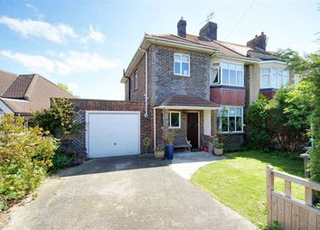 Thumbnail 3 bed semi-detached house for sale in Seamill Park Avenue, Worthing, West Sussex