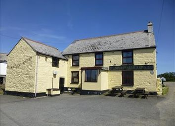 Thumbnail Pub/bar for sale in Sportsmans Arms (Leasehold), Gregwartha, Four Lanes, Redruth