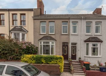 Thumbnail 3 bed terraced house for sale in Crindau Road, Newport