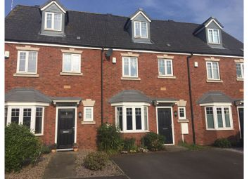 Thumbnail 4 bed town house for sale in Holmestead Close, Costock