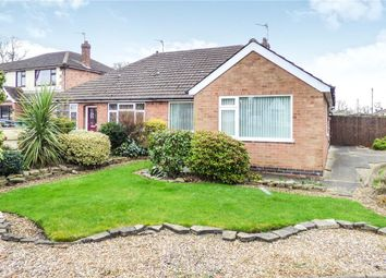 Thumbnail 3 bedroom semi-detached bungalow to rent in College Road, Syston, Leicester, Leicestershire