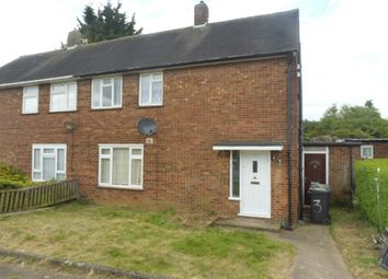 Thumbnail 3 bed semi-detached house for sale in Redferns Close, Luton