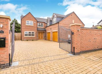 Thumbnail 5 bed detached house for sale in Grace Road, Sapcote, Leicester, Leicestershire